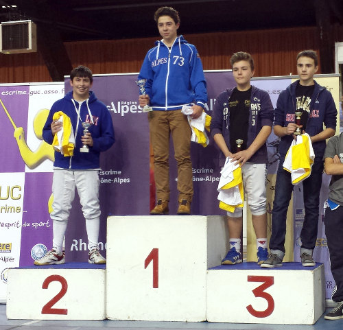 podium Zone minime Grenoble Guillaume web
