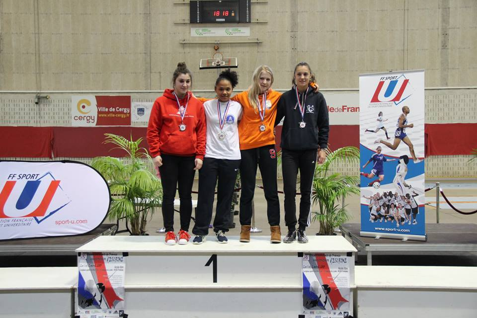 anne-laure simon bronze indiv France UNSS 2015