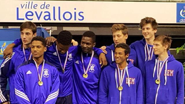 eq eh junior N1 podium Levallois